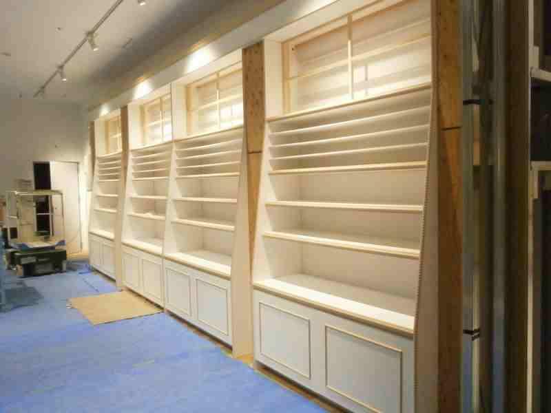 店舗内装 什器 家具 作り付け 静岡県