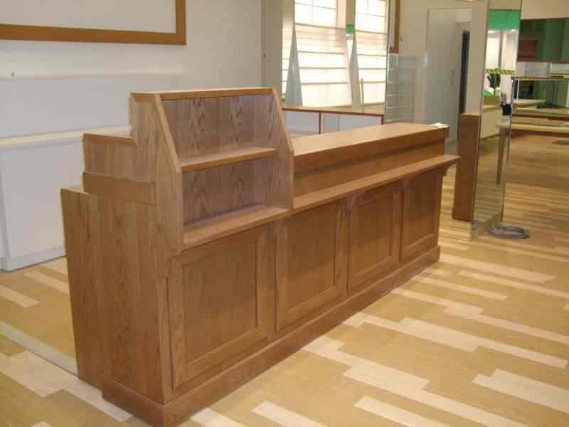 内装工事 店舗内装 静岡県 什器 木製 造作家具